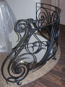 Art nouveau,jugendstil,smeedijzer,balustrade,trapleuningen,kunstsmeedwerk,ambachtelijk