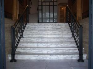 Art Deco,smeedijzer,kunstsmeedwerk,trapleuningen,balustrades,trapleuning,leuning