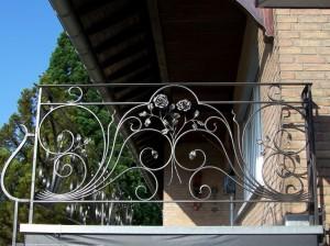 kunstsmeedwerk,balustrade,smeedijzer,leuningen,rozen,balkonleuning,smeedijzeren,ambachtelijk,