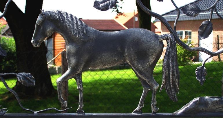 smeedijzeren paard