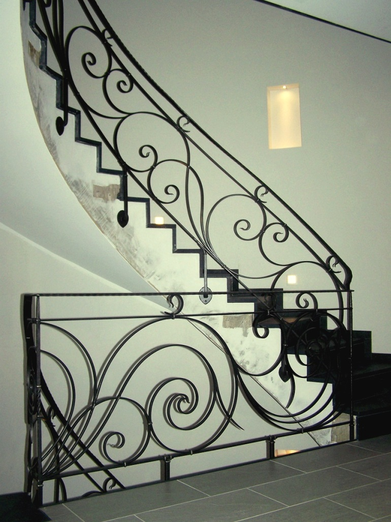 Art Nouveau leuning