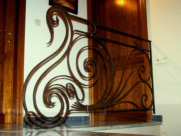 Art Nouveau balustrade