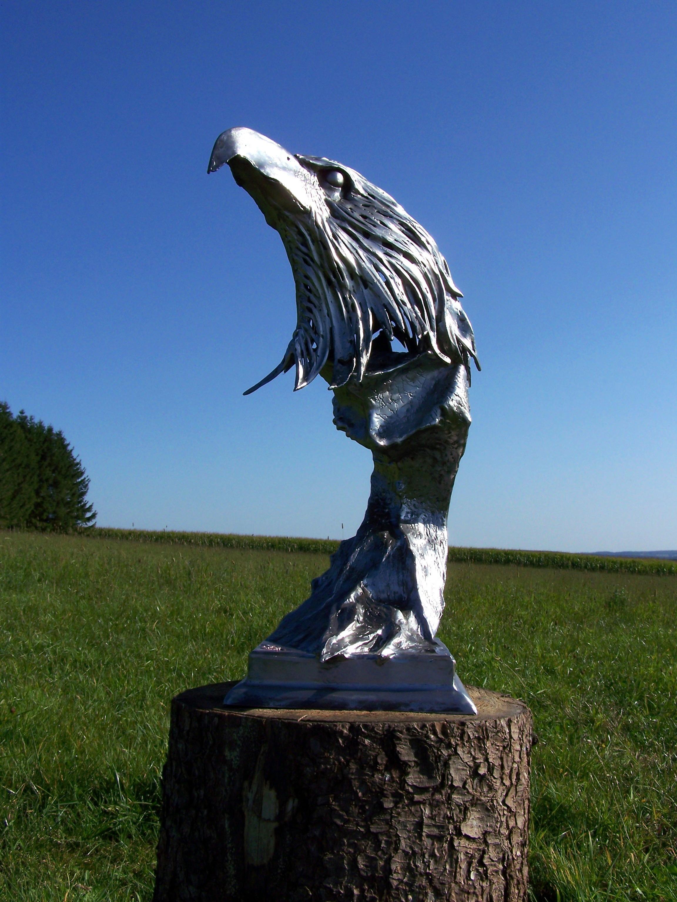 Metalsculpture, metalart, art, aquila, eagle