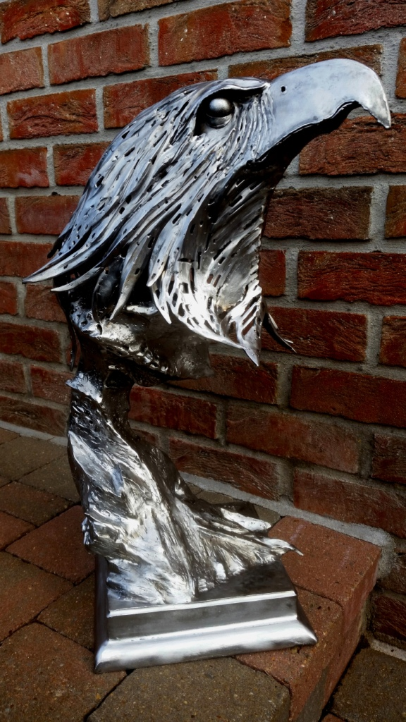 metaalsculptuur, kunst, aquila, art, metalart