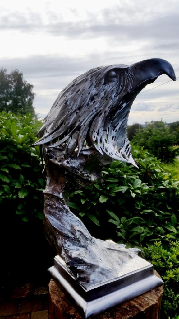 metalsculpture, sculptuur, metaal, kunst