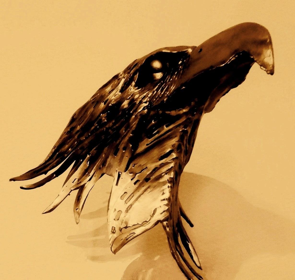 metalsculpture, aquila, arend, adelaar